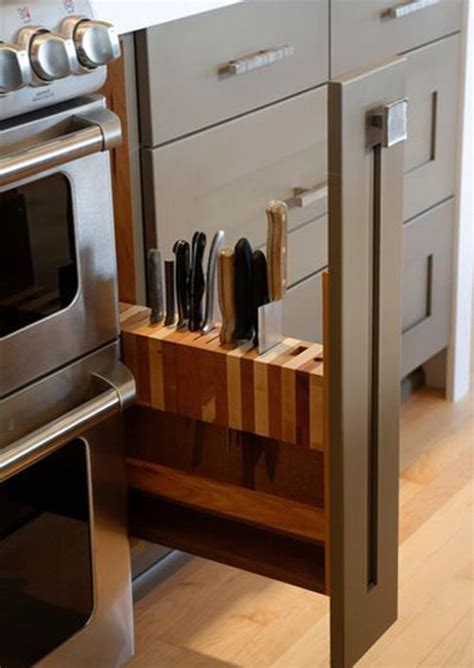 knife storage ideas 5 tips for hidden kitchen storage