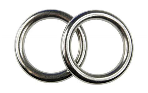 Edelstahl Ring by 2x Edelstahl Ringe D Ring 214 Se 10x60 Mm Rostfrei V4a
