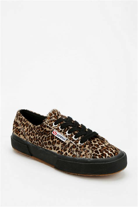 leopard print sneakers for outfitters superga leopard print calf hair sneaker