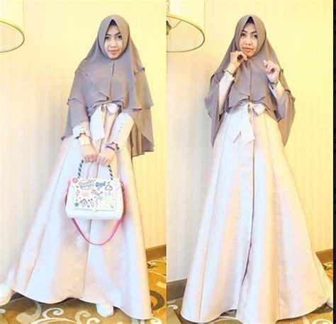 Gamis Remaja Wanita 2018 20 kumpulan model baju muslimah gaul yg menjadi favorit