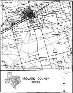 midland county map midland county communities and locales