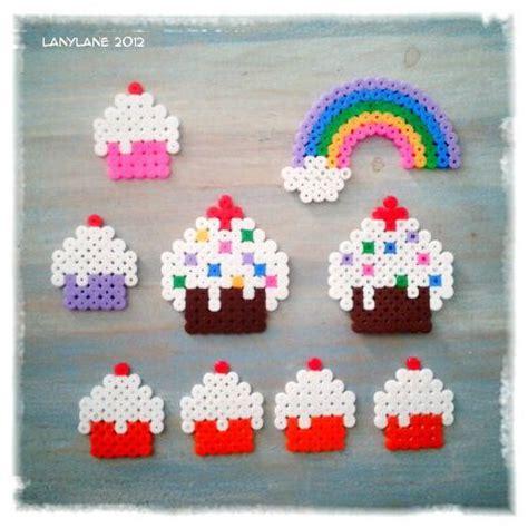 cupcake pony bead pattern best 25 hama cupcake ideas on pearler bead