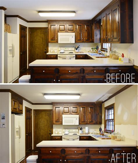 Remove Kitchen Cabinets | removing some kitchen cabinets rehanging one young