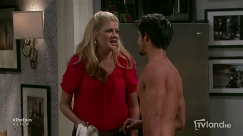 Posey Accepts Small Screen by Posey As Eric Shirtless In The Exes 3 215 09 The