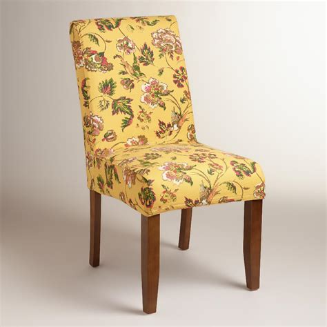 anna slipcover chair indochine floral anna chair slipcover world market