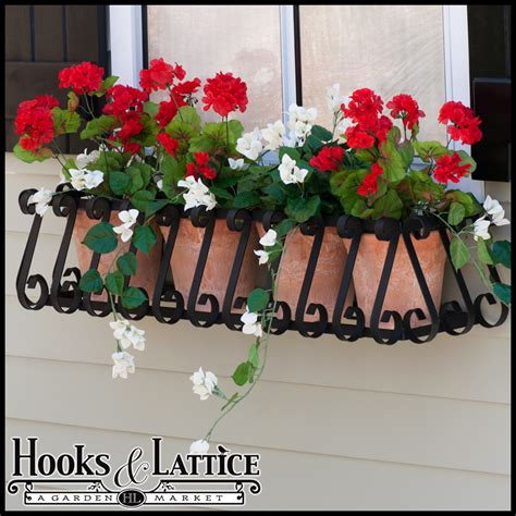 wrought iron window box cages wrought iron flower box european window box cage