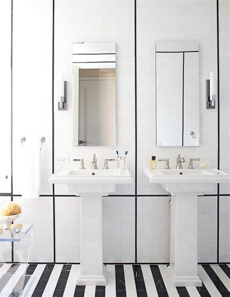 black and white striped bathroom this or that the black white bathroom nbaynadamas