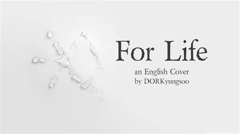 exo for life lyrics exo for life english cover youtube