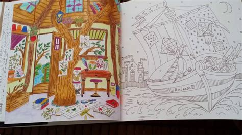 romantic country the second 1250117283 romantic country second tale coloring book youtube