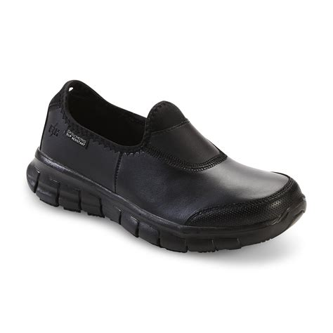 sure fit shoes skechers work s relaxed fit sure track black