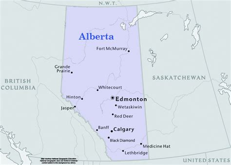 alberta usa map map of alberta with cities usa maps us country maps