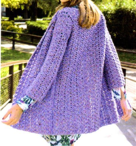artesanales en crochet saco tejido en crochet con un bonito detalle tejidos al crochet paso a paso con diagramas saco folk