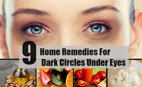 cures for eye darkness and puffines web