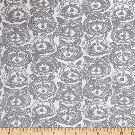 alexander henry upholstery fabric alexander henry jersey knit rocky raccoon grey discount