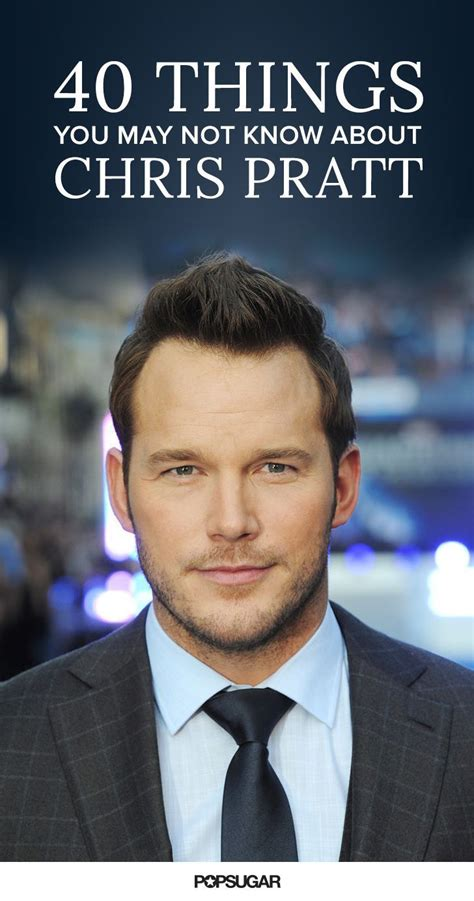 7 Things You May Not About Starbucks by 40 Things You May Not About Chris Pratt Chris Pratt