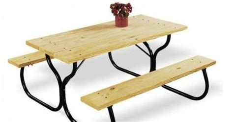 picnic table frame kit garden picnic table frame kit