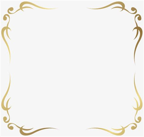 design html page showing forms and frames 简约金色法式花纹边框png图片 免费边框纹理免抠元素素材下载 巧办网