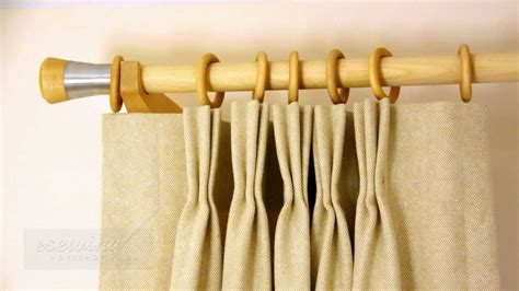 sewing rings on curtains pinch pleat curtain sewing introduction free sle