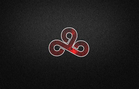 cloud 9 logo color wallpaper pixels black background csgo cloud9 cs go logo images for desktop