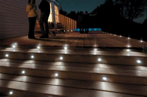 led deck step light  voltage lighting
