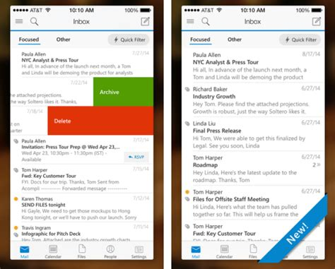 microsoft releases outlook app for ios