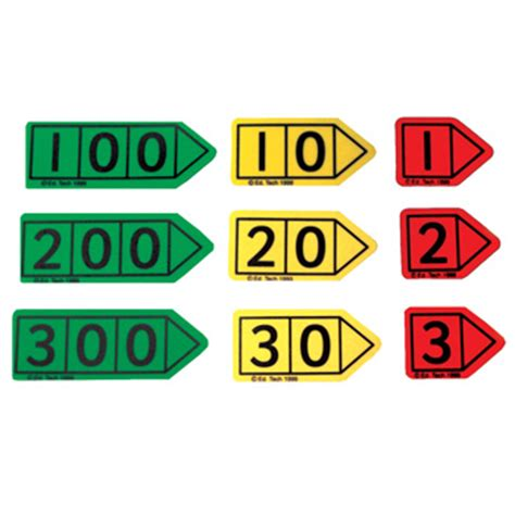 printable number arrow cards espo web ordering welcome
