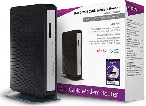 netgear  wifi docsis  cable modem router