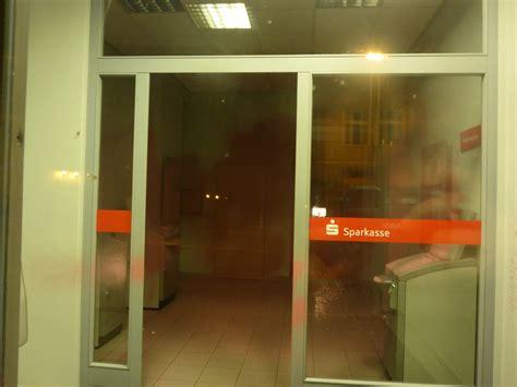 bank magdeburg magdeburg germany repainting of a bank in solidarity