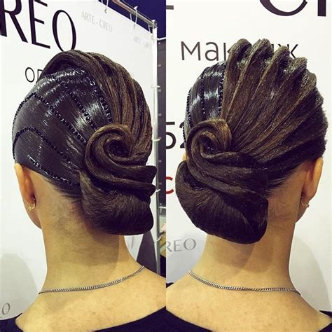 ballroom hair styles with bangs 1000 ideas about ballroom hair on pinterest competition