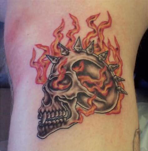 fire design tattoos images designs