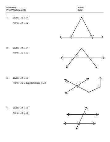 Geometry Worksheet Beginning Proofs all worksheets 187 beginning geometry proofs worksheets