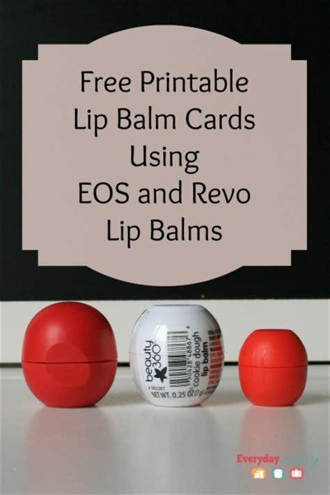 eos lip balm free printable cards free diy eos valentine card eos lip balm cards