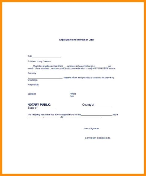 Income Verification Form Template Inspirational 9 Employment Forms Free Doc Format Download Of Proof Of Income For Self Employed Template