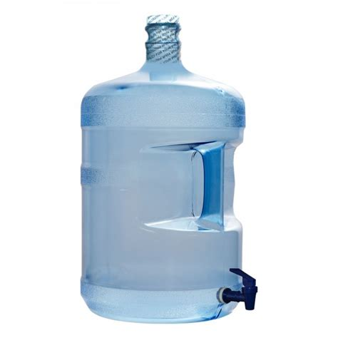 Dispenser Delvonta Water Jug 5 8 Ltr 5 gallon polycarbonate plastic reusable water bottle