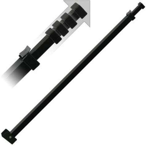 black patio door security bar sk110bl the home depot