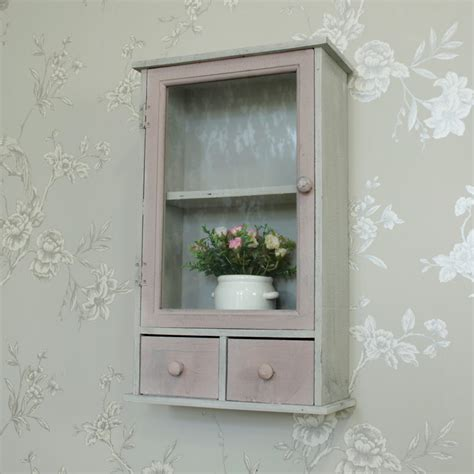 wooden wall mounted storage cabinet shabby vintage