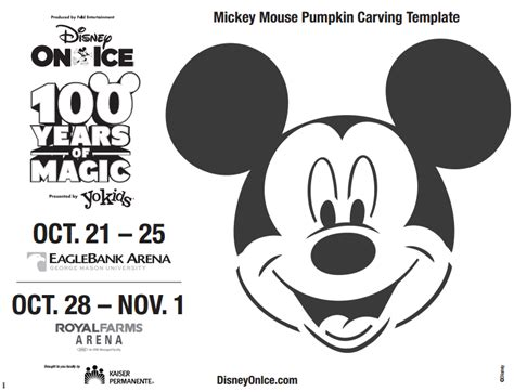 mickey mouse vire pumpkin template disney trivia and free mickey pumpkin template