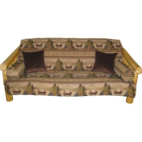 cabin futon covers balsam lake futon cover collection cabin place