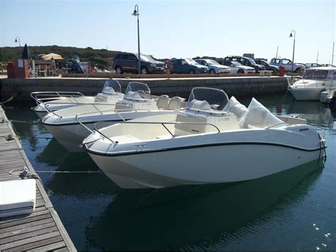 quiksilver fjord quicksilver activ 555 open in m villasimius open boats