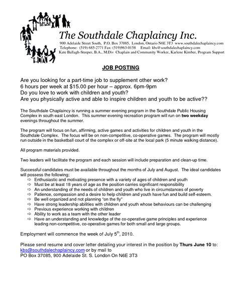 Resume Examples Monster by Sample Resume For Chaplains
