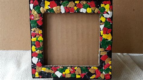 How To Make A Picture Frame Out Of Paper - 22 diy cardboard picture frames guide patterns