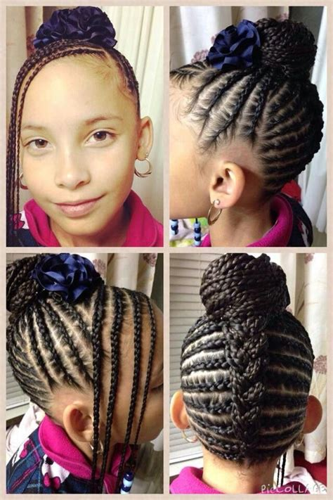 nice girl hairstyles cornrows twists remember this beautiful naturalhair naturalhairkids cornrows