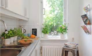 Small Kitchen Decorating Ideas For Apartment Small Kitchen Decorating Swedish Apartment