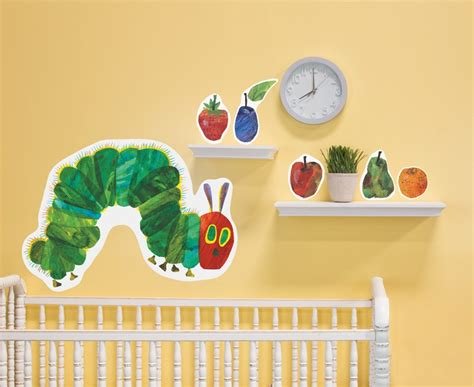 the hungry caterpillar wall stickers classroom decorations the eric carle museum of picture