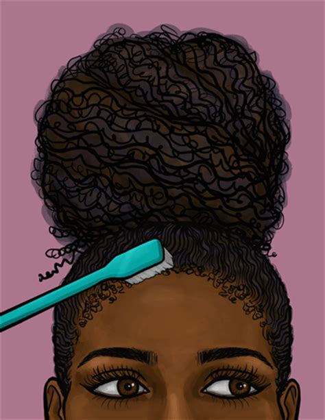 edge of wallpaper curls black hair gif by giphy studios originals find share