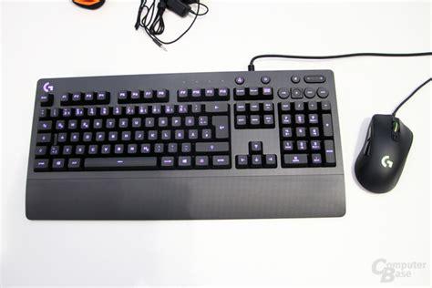 Keyboard Logitech G213 Prodigy logitech g213 prodigy gummiglocken und leds f 252 r f 252 nf