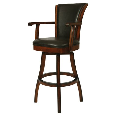 bar stools swivel with arms impacterra glenwood swivel counter height stool with arms