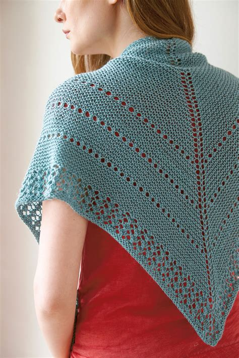 pattern for triangle shawl abrams how to basic top down double triangle shawl