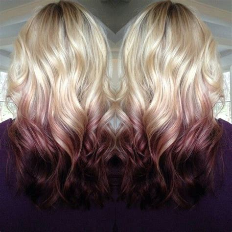 reverse ombre at home for processed blonde hair 25 best ideas about reverse ombre hair on pinterest