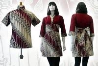 Kemeja Peria 6 model baju batik terbaru untuk pria wanita 2014 kumpulan
